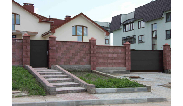 Откатные ворота Alutech