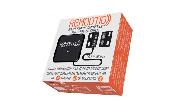 Умный блок управления гаражными воротами через смартфон Remootio