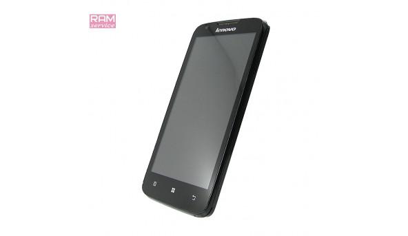 "Смартфон Lenovo A680 ROW Black, 5"", ОЗУ 1 ГБ, 4 ГБ, основна камера: 5 Мп,  фронтальна 0,3 Мп, Android 4.2.2, Б/В"