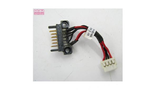"""Роз'єм живлення для зарядки батареї  HP Compaq 625 15.6""""  6017B026120, Б/В, В хорошому стані, без пошкоджень"""