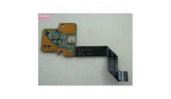 """Кнопка включення для ноутбука HP 635 15.6"""" 01015EF00-388-G, Б/В, В хорошому стані, без пошкоджень"""