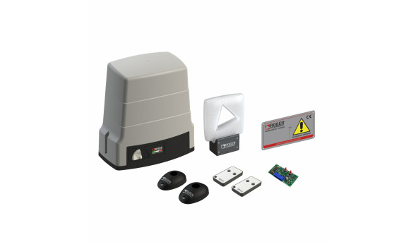 Автоматика Roger Technology KIT BH30/805 для откатных ворот весом до 1000 кг с механическими концевыми выключателями maxi комплект