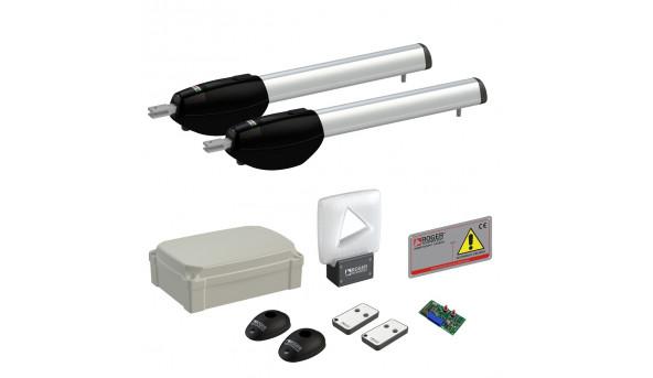 Автоматика для распашных ворот Roger Technology KIT BE20/410 maxi комплект
