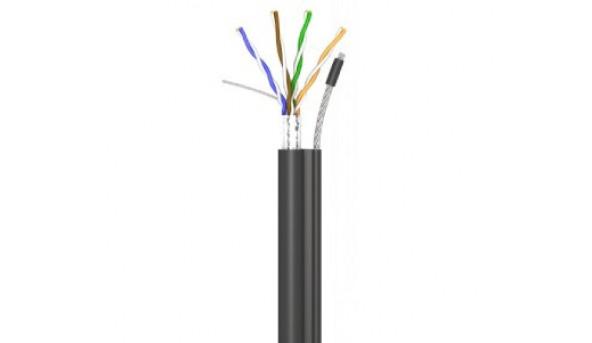 КППЕт-ВП (100) 4  2  0,51 (FTP-cat.5E) OK-net, СU, ПЭ, экр., З трос. 7 * 0,5 Кабель OK-net трос 305м