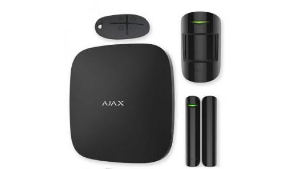 StarterKit (black) Комплект беспроводной сигнализации Ajax