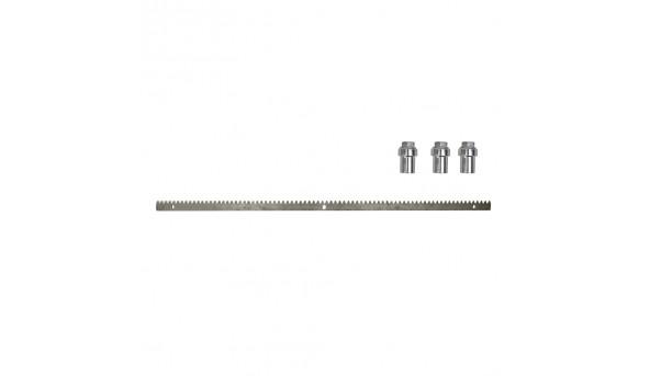 Рейка зубчатая 1 м для откатных ворот