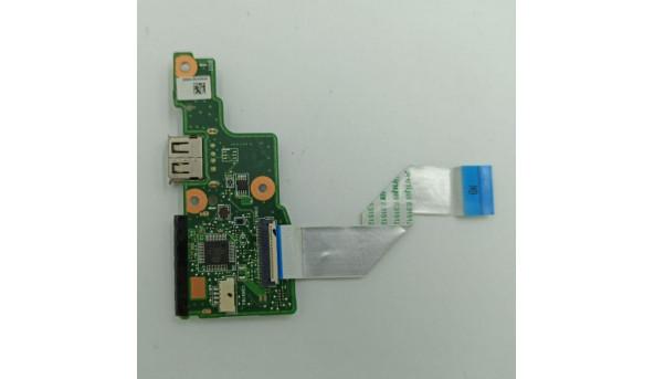 Плата USB та Card Reader, для ноутбука Lenovo IdeaPad S206, 69n095b10b02, б/в, без пошкоджень 11139