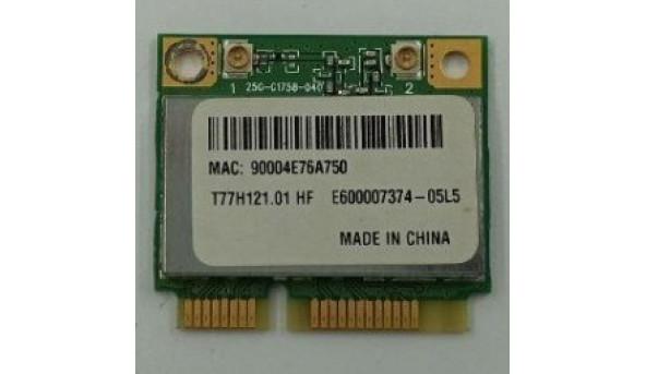 Адаптер WiFi, знятий з ноутбука Packard Bell PAV80, t77h121.01, 4104a-ar5b95, ar5b95, б/в, В хорошому стані. 11228
