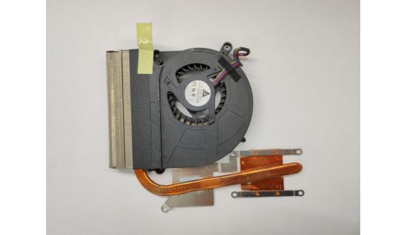 Система охолодження для ноутбука Asus X5EA, X5DIP, kdb0705hb, udqfzzh32das, 13gnvy1am010-1, 13n0-eua0101, 13n0-ena0201, 13gnvn1am010-1, б/в, протестовані, робочі. Продається все разом