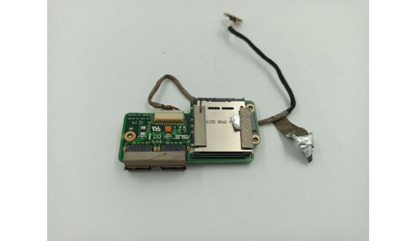 Плата USB та Card Reader,  для ноутбука Asus X5EA, 69n0esg10b03, б/в, без пошкоджень