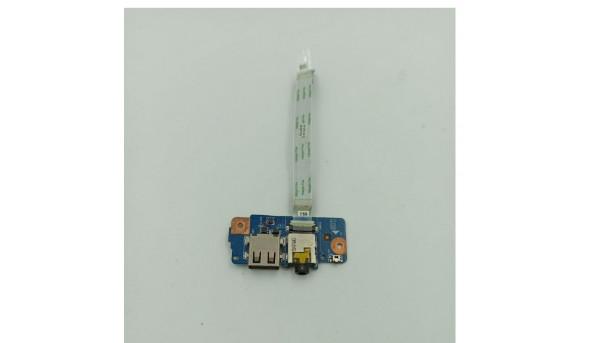 Плата з роз'ємами USB та Аудіо, для ноутбука Acer Aspire V5-122, 48.4LK14.011, 48.4LK13.011, 48.4LK15.011, б/в, без пошкоджень