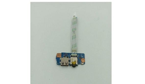USB + аудіо 48.4LK13.011 плата від  Acer V5-122, б/в
