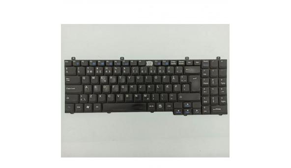 Клавіатура для ноутбука Medion MIM2220, MIM2300, MD95997, б/в. Відсутня одна клавіша. Клавіатура тестована, робоча.
