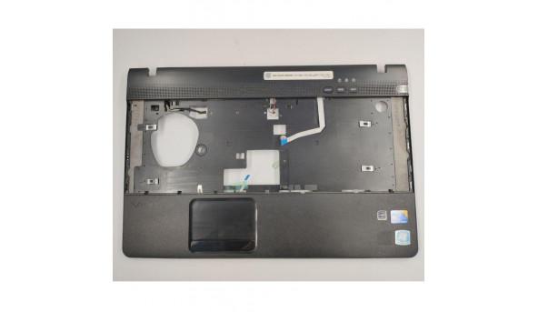 """Середня частина корпуса для ноутбука Sony Vaio VPC-EB series, VPCEB3E4R, PCG-71211V, 15.6"""", 012-521A-3016-B, б/в. В хорошому стані, без пошкодженнь. Продається з кнопкою включення та динаміками"""