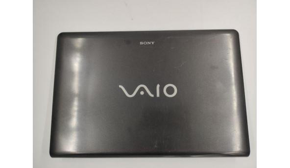 """Кришка матриці для ноутбука Sony Vaio VPC-EB series, VPCEB3E4R, PCG-71211V, 15.6"""", 012-000A-3030-A, б/в. Кріплення цілі, є подряпинки, продається з веб камерою"""