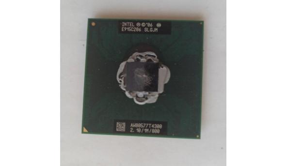 Двохядерний процесор intel Pentium T4300, SLGJM