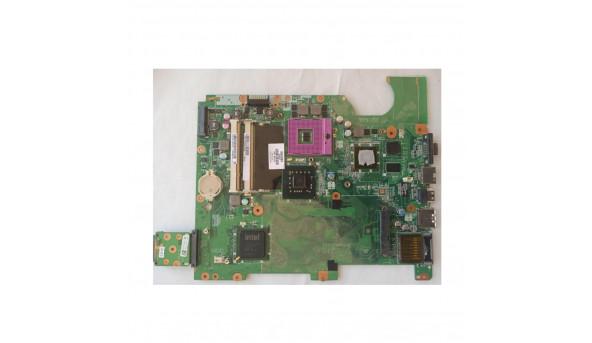 Материнська плата для ноутбука HP Presario CQ61, DA00P6MB6D0 Rev: D, б/в, має впаяне відео nVidia GeForce G103M, N10M-GE2-S.