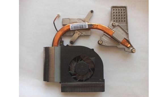 Система охолодження для ноутбука HP Presario CQ61, ksb06105ha, 534684-001, б/в, протестовані, робочі, Продається все разом