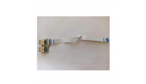 Плата USB роз'єми  для HP Presario CQ71, 340p6ub0000, daoop6tb6e0 rev: e, б/в, без пошкоджень