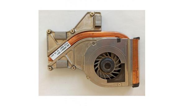 Система охолодження для ноутбука Medion MD96630, 60.4x601.001, dfs450805mi0t, f5s6-cw, б/в, протестовані, робочі, Продається все разом