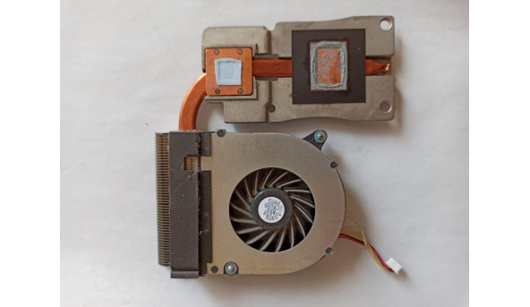 Система охолодження для ноутбука HP Compaq 6735b, 486289-001, 6033b0014601, udqfrhh02d1n, 0000330555, 6043B0045601, б/в, протестовані, робочі, Продається все разом