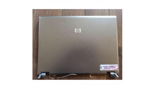 """Кришка матриці для ноутбука HP Compaq 6735b, 15.4"""", 487336-001, 6070b0232801, б/в. В хорошому стані, без пошкодженнь. Продається з веб камерою та завісами"""
