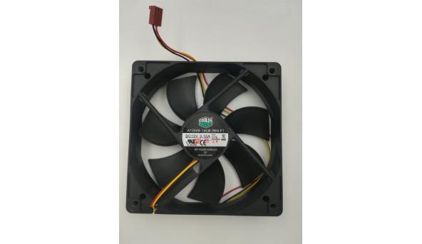 Cooler Master Case вентилятор охолодження 3-контактний A12025-12CB-3B N-F1 DF1202512SELN 120mmx25mm
