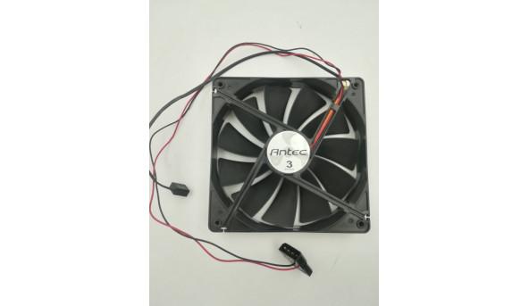 4-контактний 120-мм контактний вентилятор Antec Tricool з 3-ступінчастим мікроперемикачем AT-12 / SC