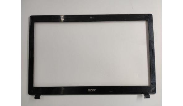 """Рамка матриці для ноутбука Acer Aspire 5733, 5250, 5733z, 5252, 5336, 15.6"""", ap0fo000j20, fa0fo000e00-2, б/в. Лівий кут пошкоджений (фото)"""