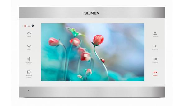 "Видеодомофон 10"" SL-10IPT (silver+white)"