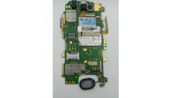 Материнська плата для телефона Lenovo A300t б/в з розборки, не тестована