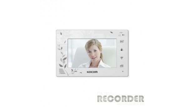 Кольоровий відеодомофон Kocom KCV-A374 SD LE