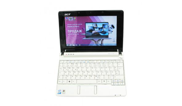 """Нетбук Acer Aspire One ZG5 , 10.1"""", Intel Atom N270, 1524 Mb RAM, 250 GB HDD, Intel GMA 950, Windows 7, Б/В"""