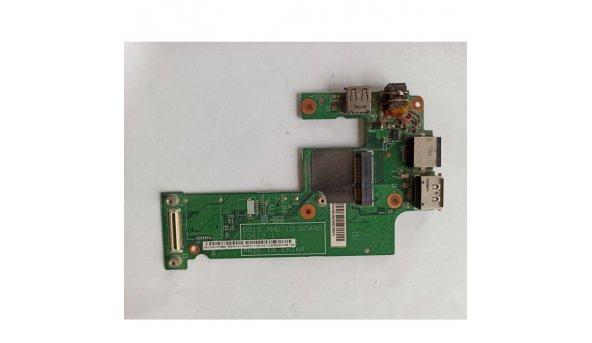 USB+LAN+ESATA+DC DG15 10612-1 для DellInspirion M5010, б/в
