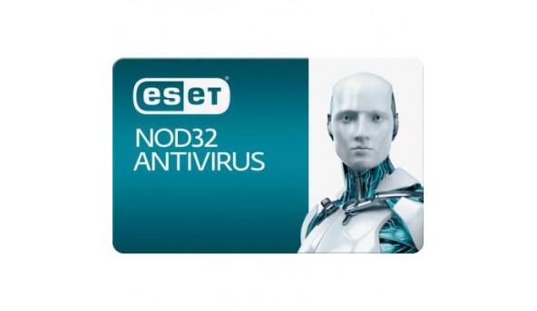 Антивирус Eset NOD32 Antivirus 3ПК 12 мес. base/20 мес продление конверт (2012-19-key)
