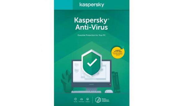Антивирус Kaspersky Anti-Virus 2020 2 ПК 1 год Base Box (DVD-Box /No Disc) (5056244903237)