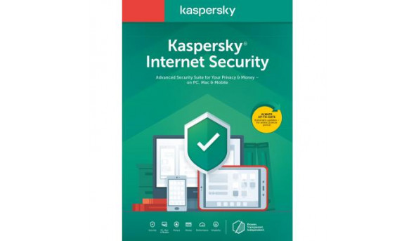 Антивирус Kaspersky Internet Security Multi-Device 2020 1 ПК 1 год Base Box (DVD (5056244903275)