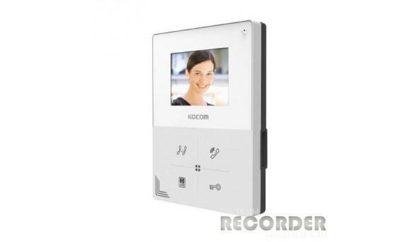Кольоровий відеодомофон Kocom KCV-401EV