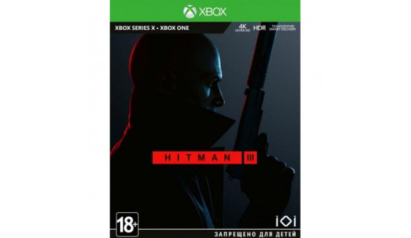Игра Xbox Hitman 3 Standard Edition [Xbox One, English version] (SHMN3SRU01)