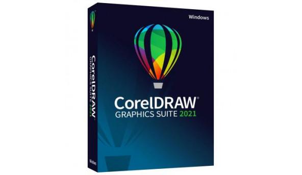 Программная продукция Corel CorelDRAW Graphics Suite 2021 RU/EN/TR Windows (ESDCDGS2021ROW)