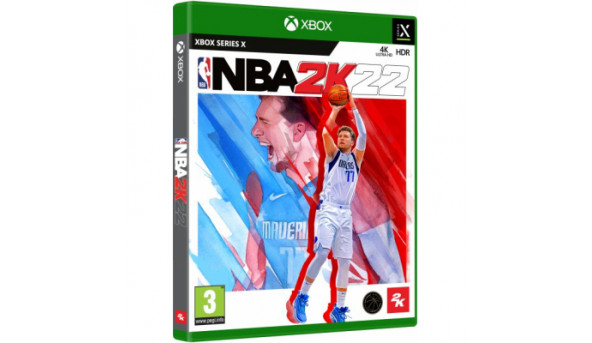 Игра Xbox NBA 2K22 [Russian subtitles] (5026555364935)