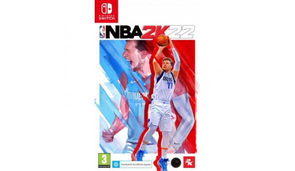 Игра Nintendo NBA 2K22 (5026555069748)