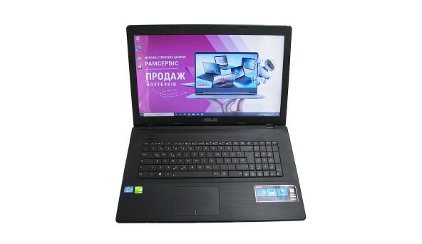 """Ноутбук Asus R704V, 17.3"""", Intel Core i3-3110M, 4 GB RAM, 320 GB HDD, NVIDIA GeForce GT 720M, Windows 10, Б/В"""