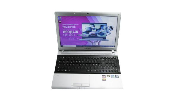"Ноутбук Samsung RV520, 15.6"", Intel Core i5-2410M, 4 GB RAM, 500 GB HDD, NVIDIA GeForce GT 520M, Windows 10, Б/В"