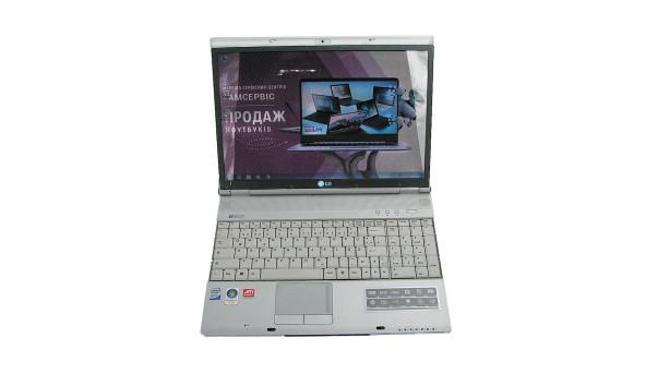 "Ноутбук LG E500, 15.4"", Intel Core 2 Duo T8100, 3 GB RAM, 500 GB HDD, ATI Mobility Radeon HD 2600, Windows 7, Б/В"