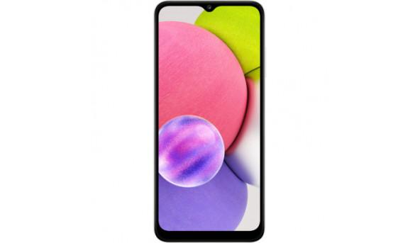 Мобильный телефон Samsung SM-A037F/64 (Galaxy A03s 4/64Gb) White (SM-A037FZWGSEK)