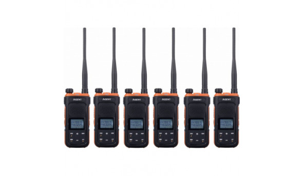 Портативная рация Agent AR-UV11 Six Pack комплект 6 шт (AR-UV11_6)