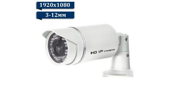 Камера відеоспостереження LuxCam IP LBA-P1080/3-12