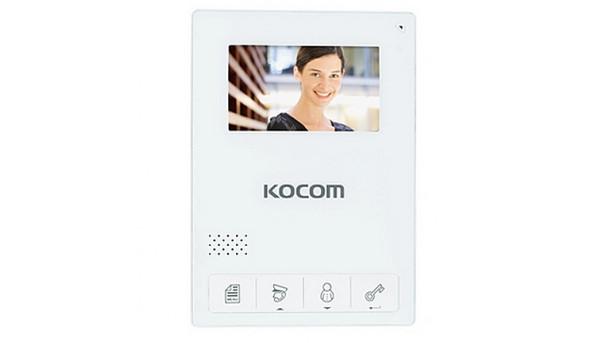Кольоровий відеодомофон Kocom KCV-434SD