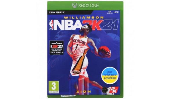 Игра Xbox NBA 2K22 [Russian subtitles] (5026555365055)
